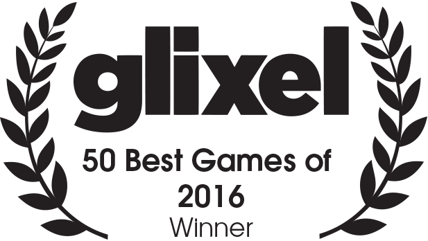 Glixel 50 Best Games of 2016 Winner