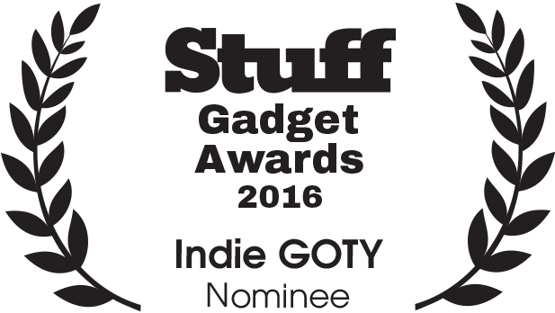 STUFF Gadget Awards Indie GOTY