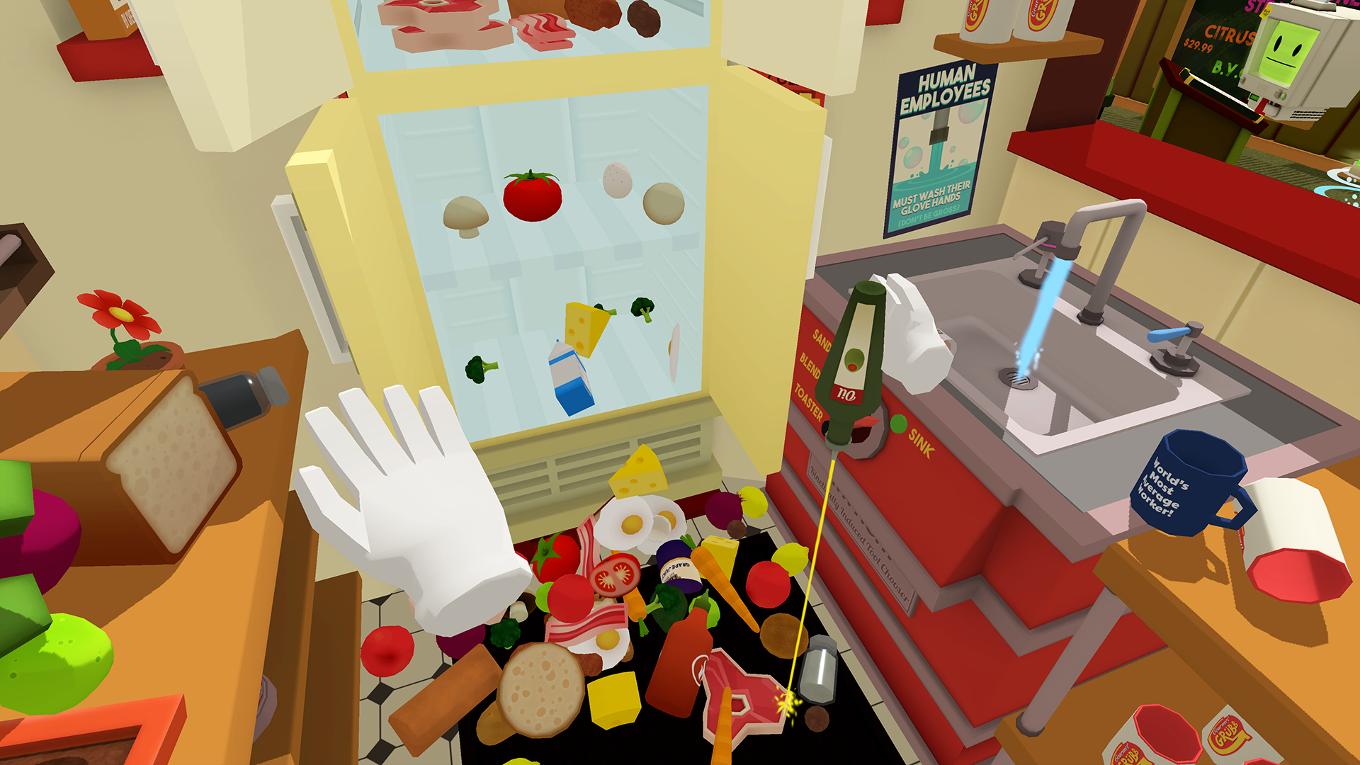 Job Simulator Motion Controls